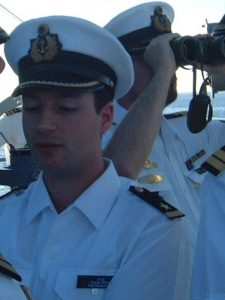2001 - junger Marineoffizier